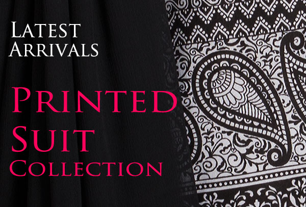 Printed suit collection