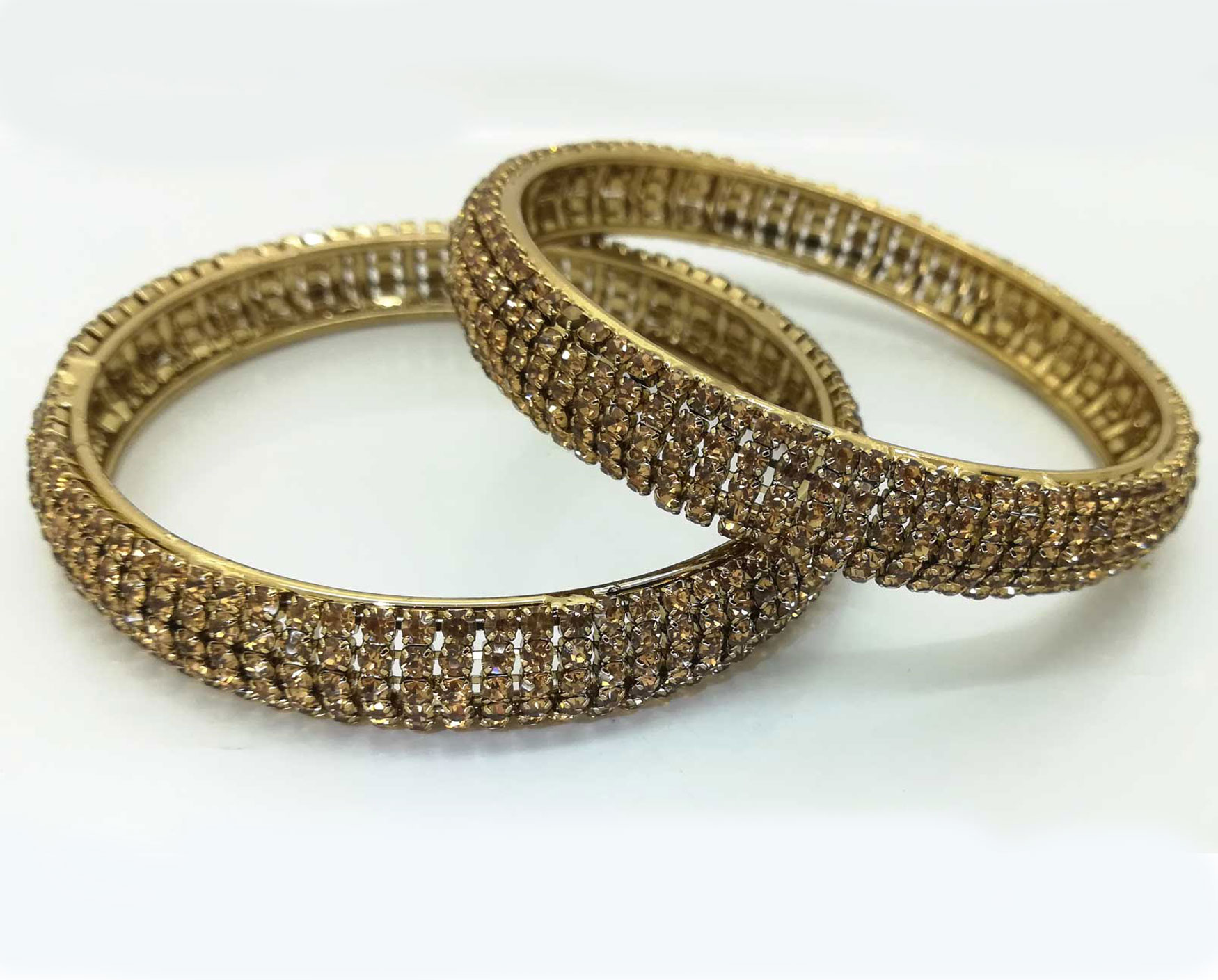 diamante bangle set in lct