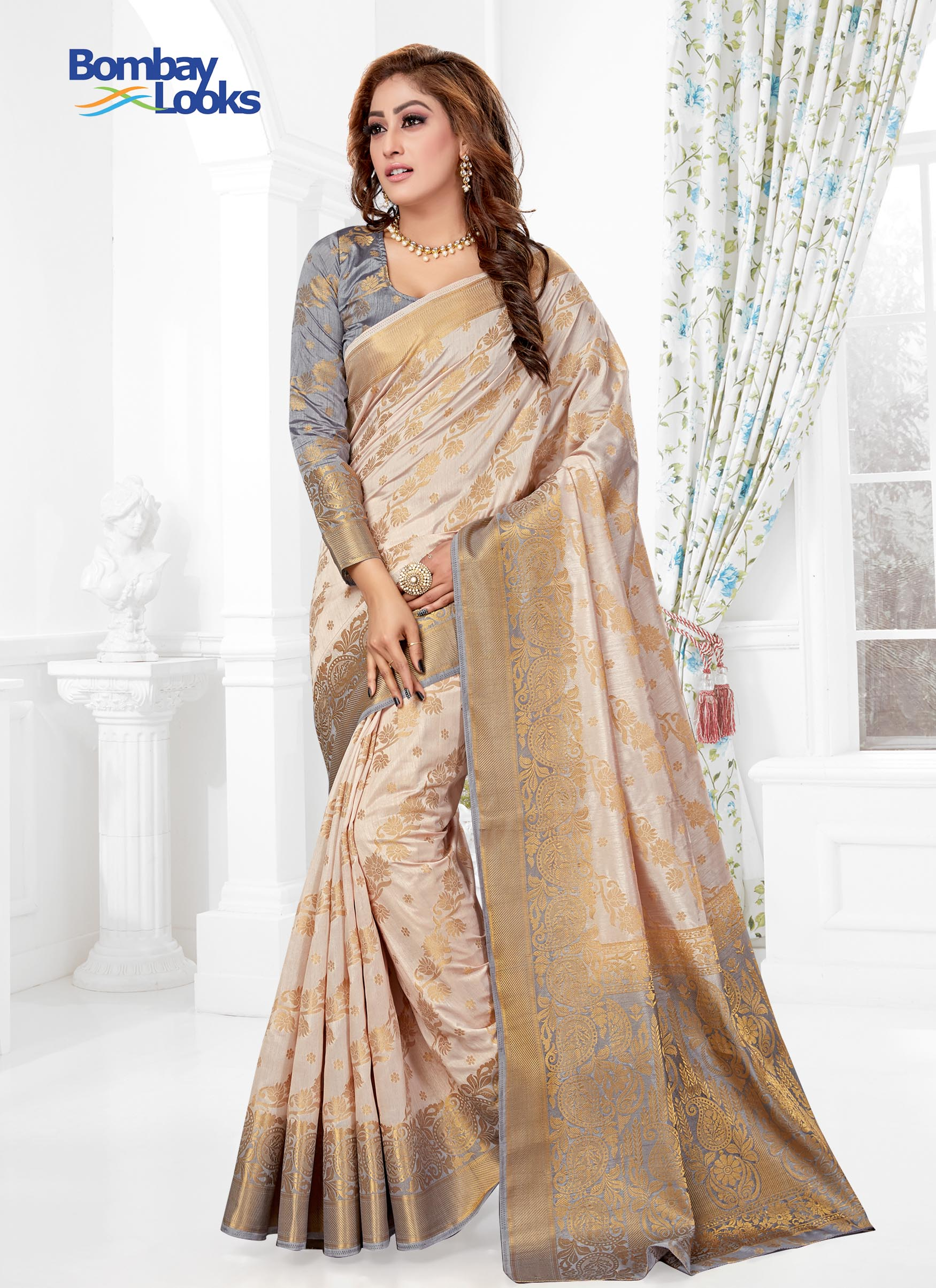 0376e60ed38d46 Indian Sarees | Designer, Silk & Wedding Sarees | Bombay Looks UK